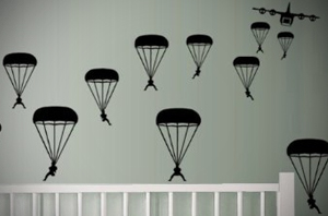 Paratroopers-Wall-Decals